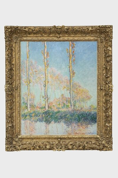 Claude Monet, 'Poplars (Peupliers)', 1891