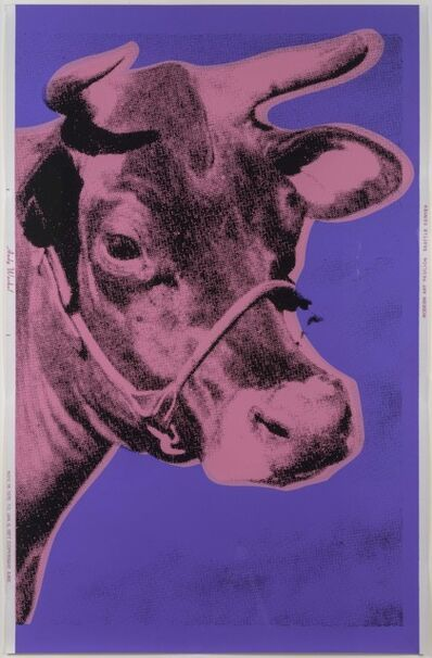Andy Warhol, 'Cow', 1976