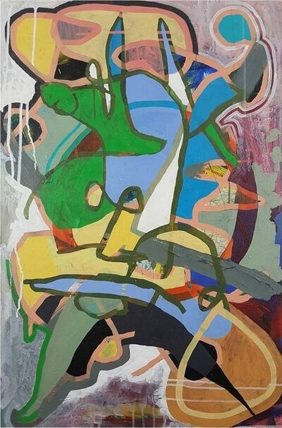 Aaron Young (b. 1981), 'abstract THREE', 2016