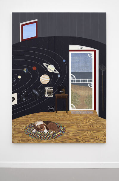 Becky Suss, 'Mic (Lighthouse with Solar System)', 2019