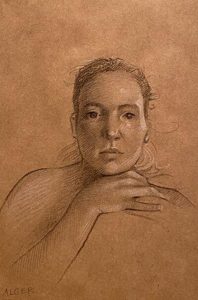 Nicole Alger, 'Julie Four (Postcard)', 2021