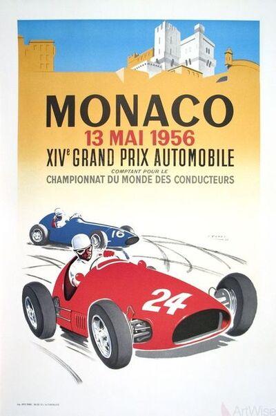 Jean Ramel, 'Monaco Grand Prix 1956', 1987