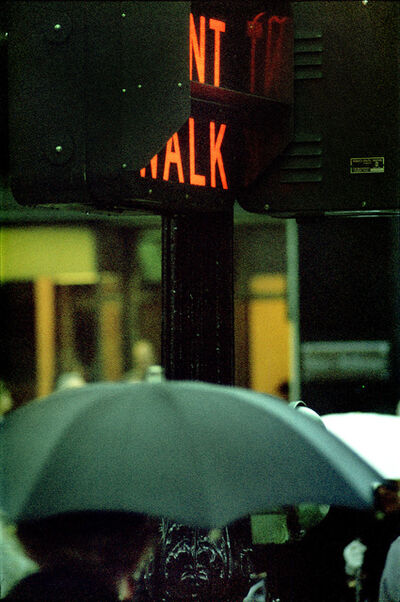 Saul Leiter, 'Don't Walk', 1952 (printed later)