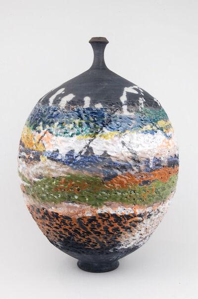 Steven Branfman, 'Raku Summer Landscape Vessel 1499', ca. 2016