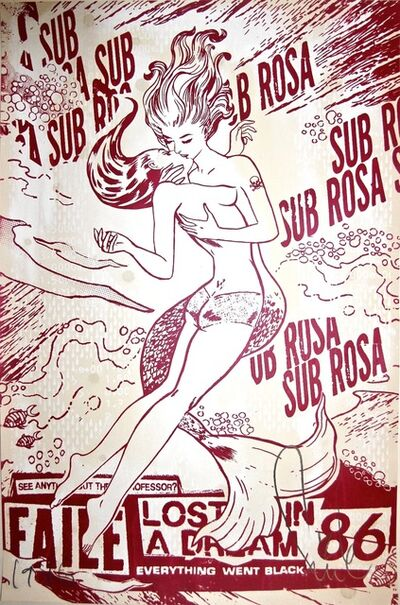 FAILE, 'Sub Rosa (In Shimmering Red)', 2012