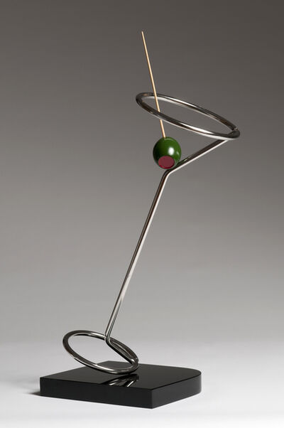 Claes Oldenburg, 'Tilting Neon Cocktail', 1983-1984