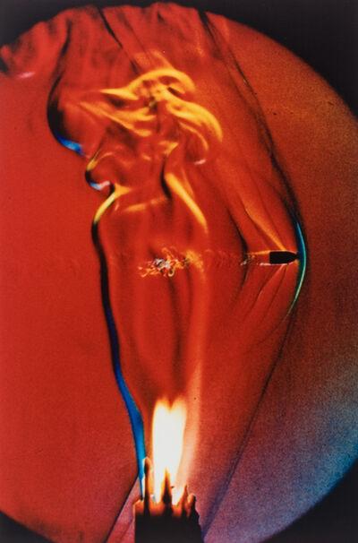 Dr. Harold Eugene Edgerton, 'Bullet through Candle Flame', 1973