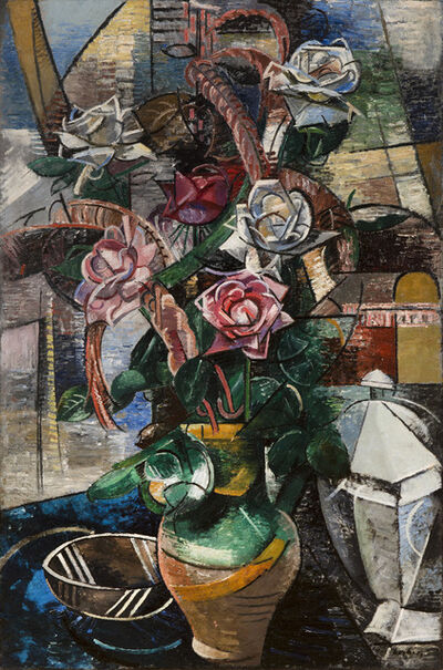 Auguste Herbin, 'Les Roses', 1912