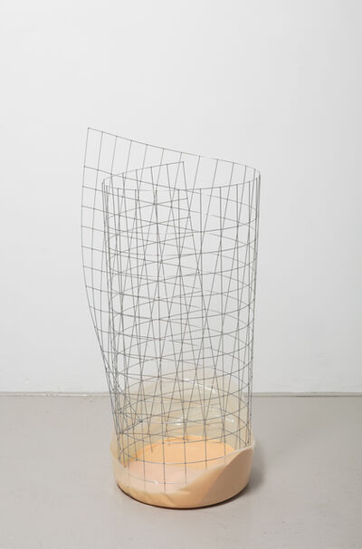 Nairy Baghramian, 'Waste Basket (bin for rejected ideas)', 2017
