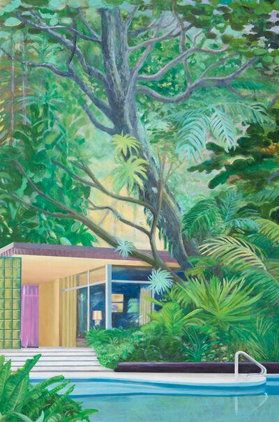 Leif Trenkler, 'Das versteckte Haus im Dschungel', 2019