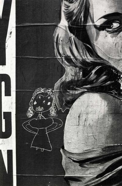 Helen Levitt, 'N.Y.C. (Poster Girl)', ca. 1942