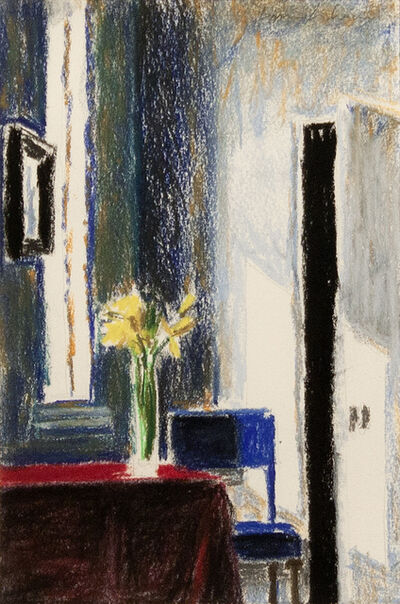 Bruce Cohen, 'Interior with Daffodils and Blue Chair', 2018