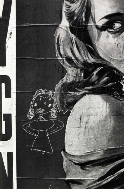 Helen Levitt, 'Poster Girl', ca. 1940