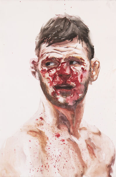 Christian Rex van Minnen, 'Fighter 1 (Bisping)', 2018