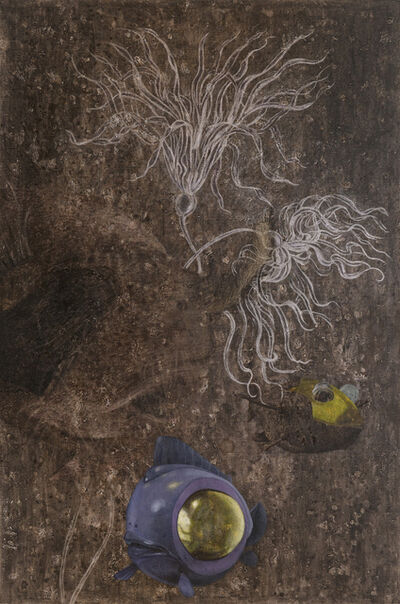 Yang Mao-Lin 楊茂林, 'Wanderers of the Abyssal Darkness. The Bigeye L1802', 2018
