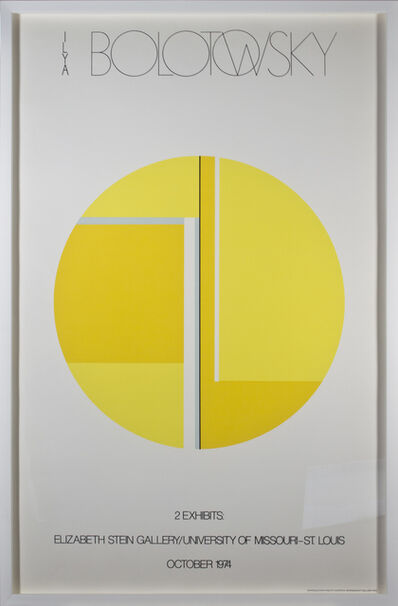 Ilya Bolotowsky, 'Elizabeth Stein Gallery A/P', 1974