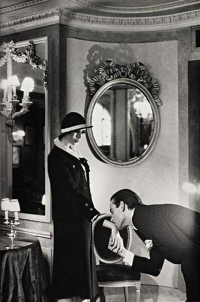 Helmut Newton, 'Upstairs at Maxim's, Paris (Signed)', 1978