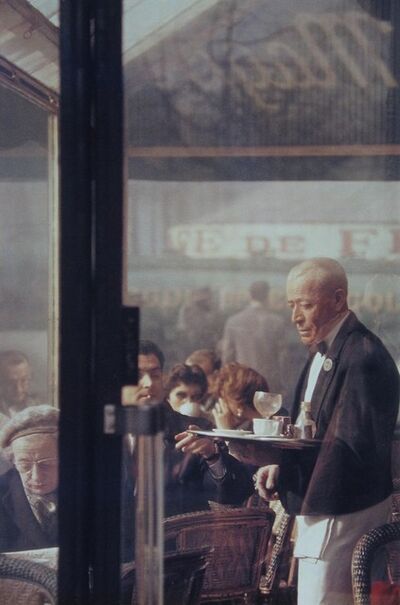Saul Leiter, 'Waiter, Paris', 1959