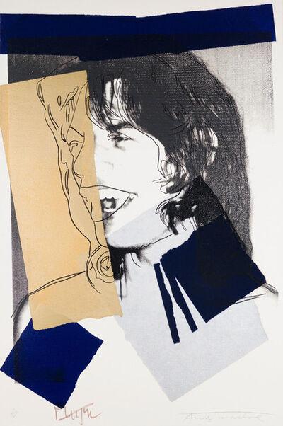 Andy Warhol, 'Mick Jagger F&S II.142', 1975