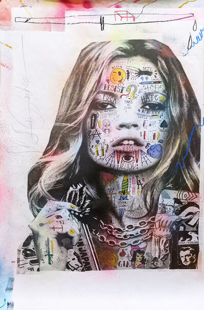 Stikki Peaches, 'Kate Moss', 2020