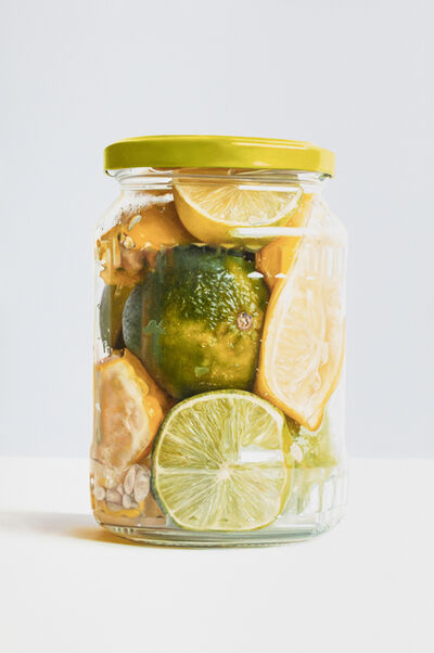 Stephen Johnston, 'Lemons and Limes in a Jar', 2018