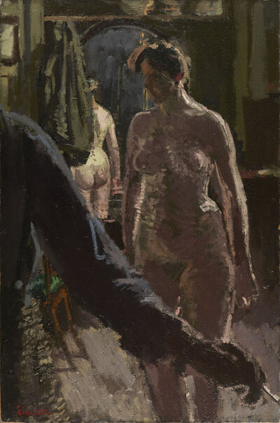 Walter Sickert, 'The Studio: The Painting of a Nude', 1906