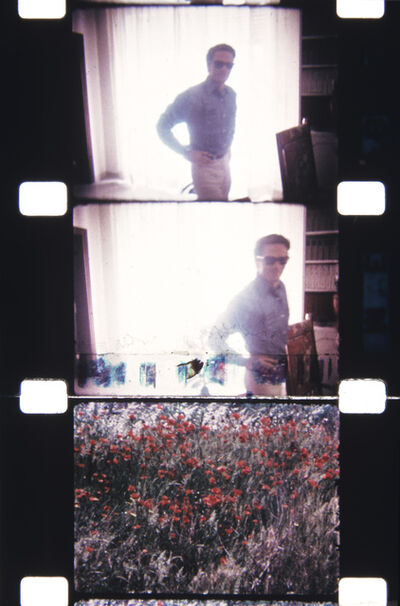 Jonas Mekas, 'Pier Paolo Pasolini, Rome—at his home, June 1967 Flower frame: Assisi', 2013