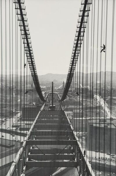 Peter Stackpole, 'Three Images of the Bay Bridge Construction (3 works)'