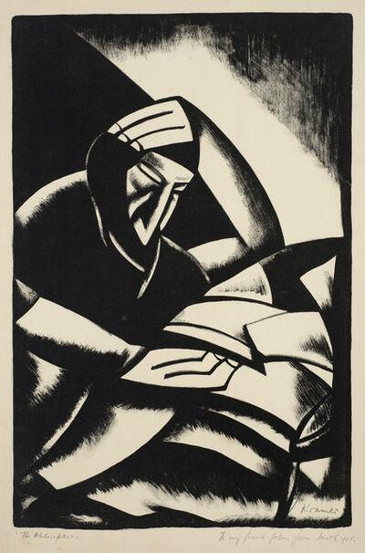 Jacob Kramer, 'The Philosopher', 1922