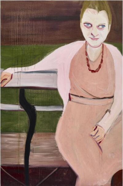 Chantal Joffe, 'Moll in Pink', 2017