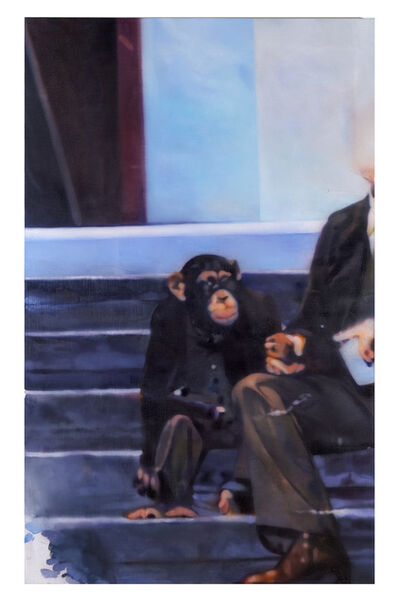 Johannes Kahrs, 'Untitled (monkey man)', 2015