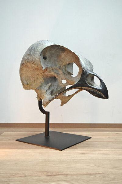 Quentin Garel, 'skull of bird', 2012