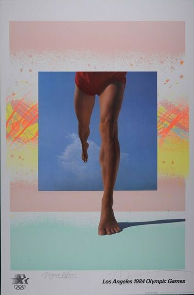 April Greiman, 'Los Angeles Olympic 1984  ', 1984