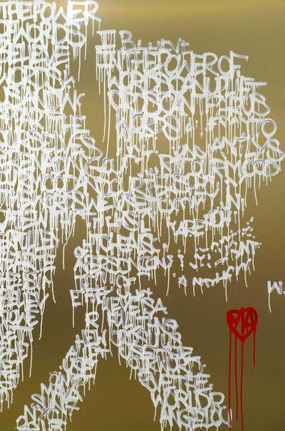 """Jonas """"SUN7"""" Bournat, 'Power of Words', 2013"""
