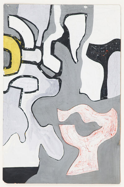 Nell Blaine, 'Abstraction', ca. 1940's