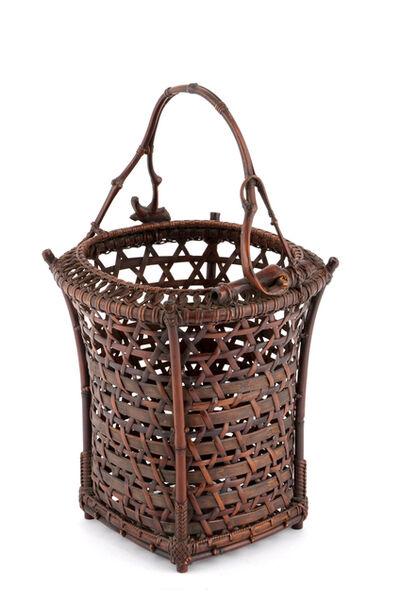 Tanabe Chikuunsai I, 'Flower Basket; Lot', 1877-1937
