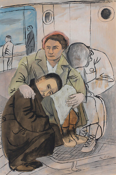 Ben Shahn, 'Immigrant Family', ca. 1938