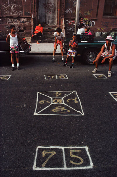 Joseph Rodriguez, 'Skeely Street Game, Spanish Harlem, NY', 1987
