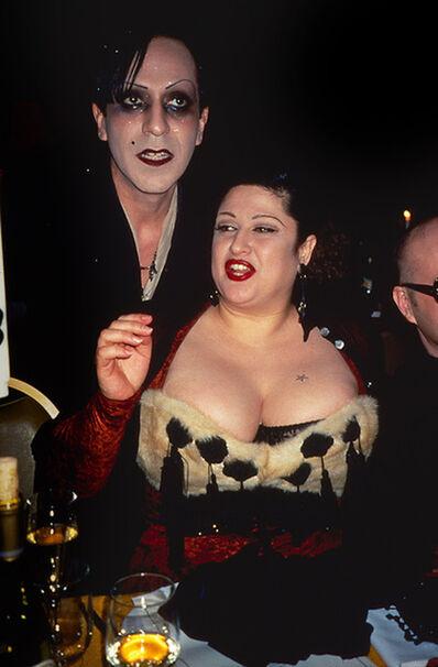 Rose Hartman, 'Joey Arias and Stella Ellis, Private Dinner, 1990s', 2021