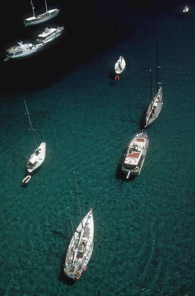 Slim Aarons, 'Blue Seas', 1984