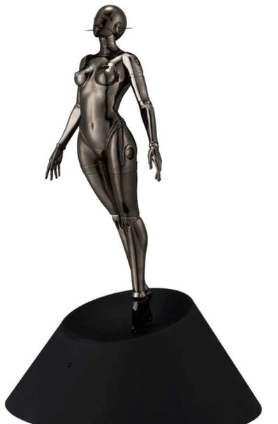 "Hajime Sorayama, 'The ""Sexy Robot Floating - Black metal"" 1/4 Scale ', 2021"