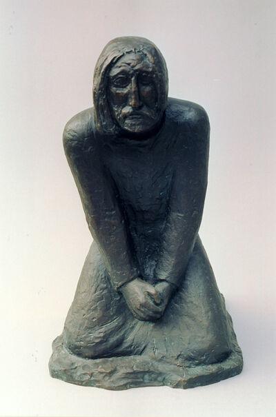 Berthold Müller-Oerlinghausen, 'Christi Angst am Ölberg', 1930
