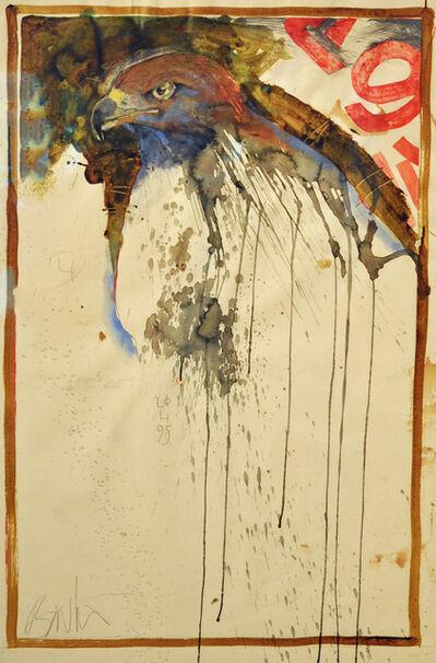 Rick Bartow, 'Hawk Watching ', 1995