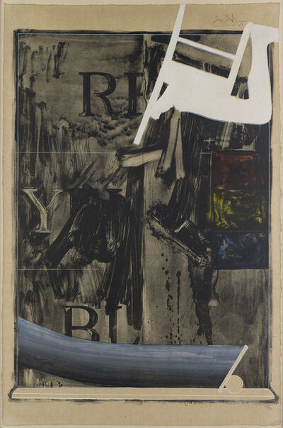Jasper Johns, 'Watchman', 1967