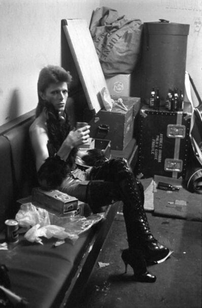 Terry O'Neill, 'David Bowie Backstage', ca. 1975