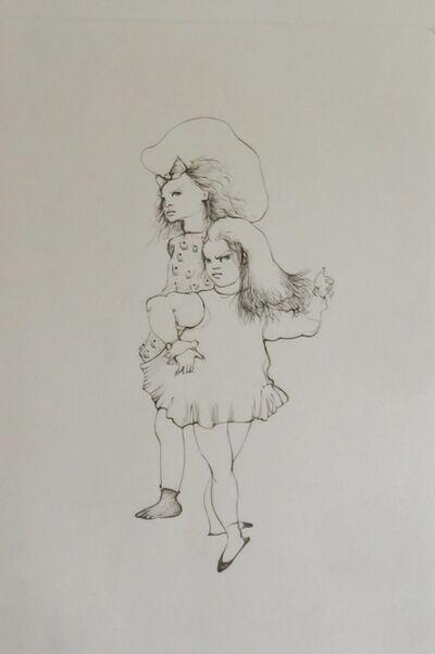 Leonor Fini, 'Les petites filles modèles I', 1973