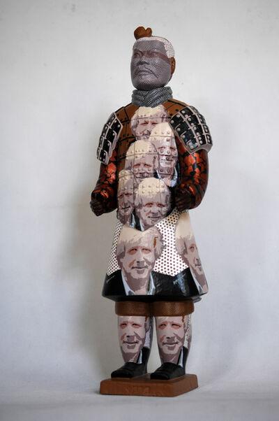 Fenghua Liu, 'Terracotta Warrior Boris Johnson', 2012