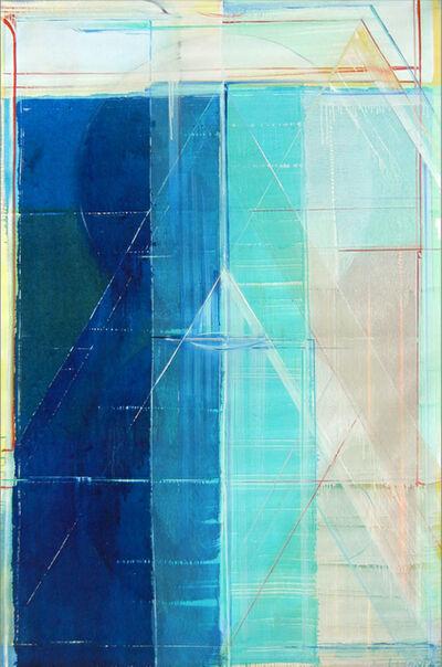 Richard Roblin, 'Turquoise Falls', 1987