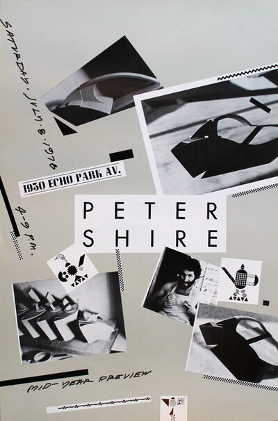 Peter Shire, 'Poster', 1978