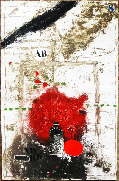 James Coignard, 'Unknown - From Otage et Rouge series', ca. 1980